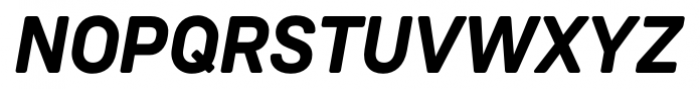 Weissenhof Grotesk Bold Italic Font UPPERCASE
