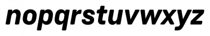 Weissenhof Grotesk Bold Italic Font LOWERCASE