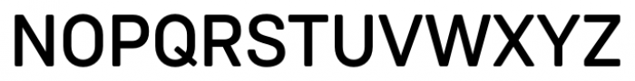 Weissenhof Grotesk Medium Font UPPERCASE