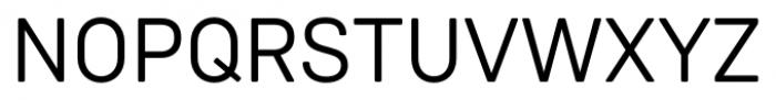 Weissenhof Grotesk Regular Font UPPERCASE