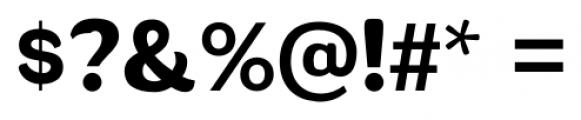 Wesley SRF Regular Font OTHER CHARS