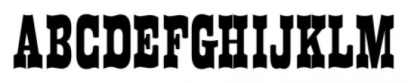 Westward JNL Regular Font LOWERCASE