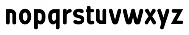 Wevli Condensed Bold Font LOWERCASE