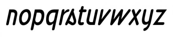 Wevli Condensed Italic Font LOWERCASE