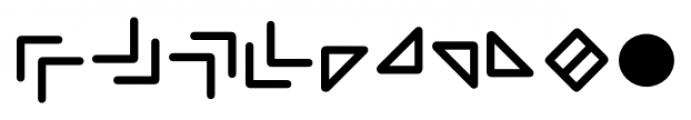 Wevli Dingbats Font OTHER CHARS
