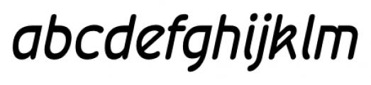 Wevli Italic Font LOWERCASE