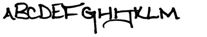 Weathervanes Alternative Font UPPERCASE