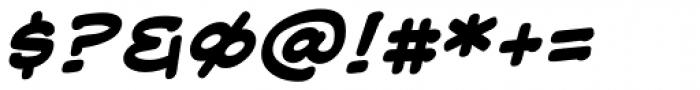 Web Letterer Pro BB Bold Italic Font OTHER CHARS