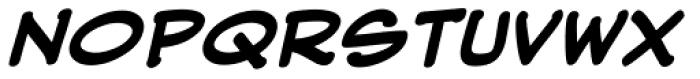 Web Letterer Pro BB Bold Italic Font UPPERCASE