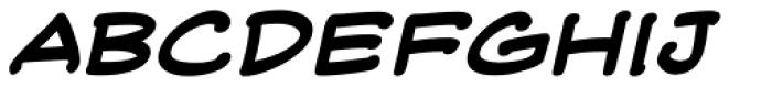 Web Letterer Pro BB Bold Italic Font LOWERCASE