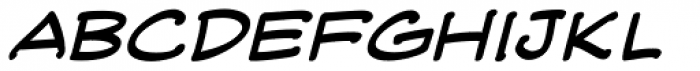 Web Letterer Pro BB Italic Font LOWERCASE