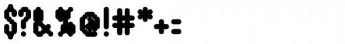 WebType I Heavy Font OTHER CHARS