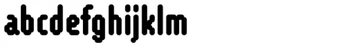 WebType I Heavy Font LOWERCASE