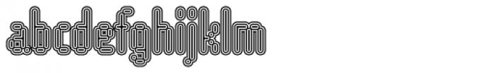 WebType III Medium Font LOWERCASE