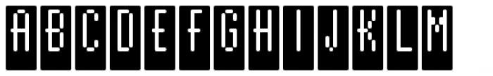 WebType IV Medium Font UPPERCASE