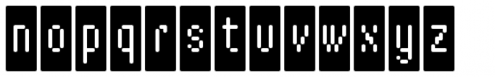 WebType IV Medium Font LOWERCASE