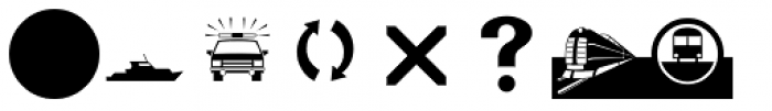 Webdings Font LOWERCASE