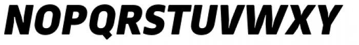 Webnar Black Italic Font UPPERCASE