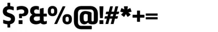 Webnar Bold Font OTHER CHARS