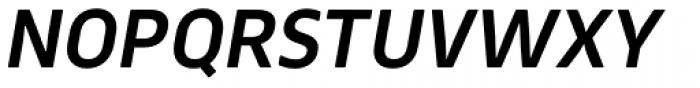 Webnar Demi Bold Italic Font UPPERCASE
