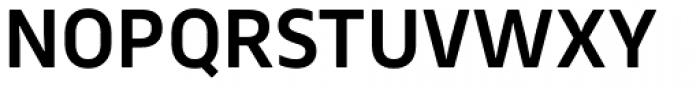 Webnar Demi Bold Font UPPERCASE