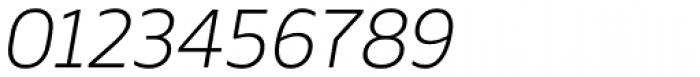 Webnar Light Italic Font OTHER CHARS