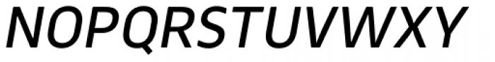 Webnar Medium Italic Font UPPERCASE
