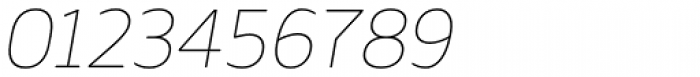 Webnar Thin Italic Font OTHER CHARS