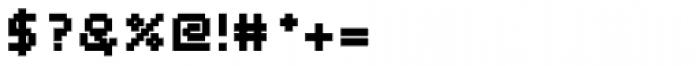 Webpixel bitmap Black Font OTHER CHARS