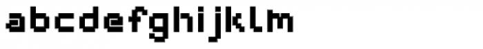 Webpixel bitmap Black Font LOWERCASE