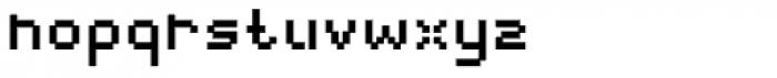 Webpixel bitmap Bold Font LOWERCASE