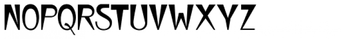 Wedge Gothic ML Font UPPERCASE
