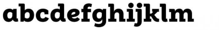 Weekly Alt Black Font LOWERCASE