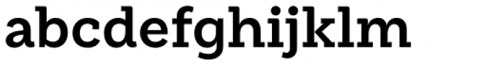 Weekly Bold Font LOWERCASE