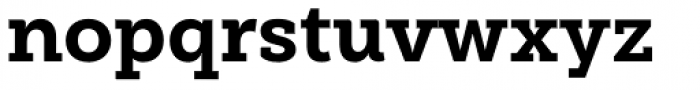 Weekly Extra Bold Font LOWERCASE