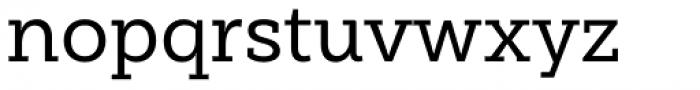 Weekly Medium Font LOWERCASE