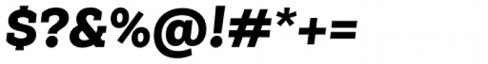 Weekly Pro Black It Font OTHER CHARS
