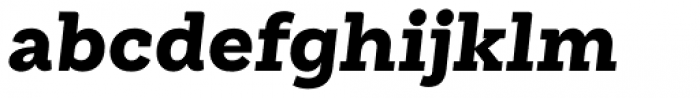 Weekly Pro Black It Font LOWERCASE