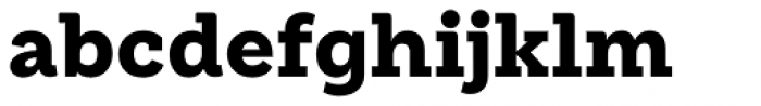Weekly Pro Black Font LOWERCASE