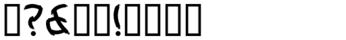 Weeneez JNL Font OTHER CHARS
