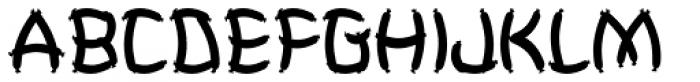 Weeneez JNL Font LOWERCASE