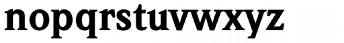 Weidemann Black Font LOWERCASE