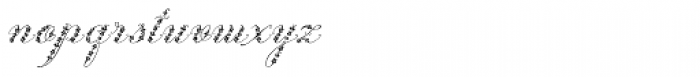 Weingut Script Flourish Font LOWERCASE