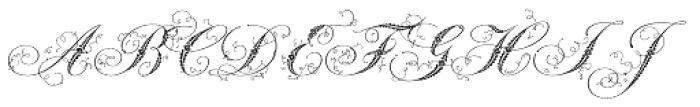 Weingut Script Font UPPERCASE
