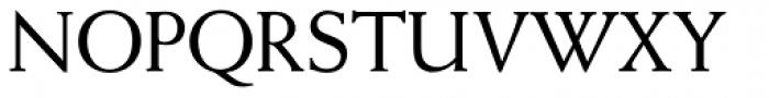 Weiss Antiqua URW D Regular Font UPPERCASE