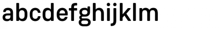 Weissenhof Grotesk Medium Font LOWERCASE