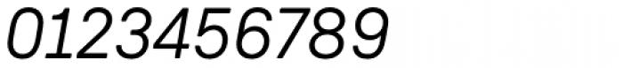 Weissenhof Grotesk Regular Italic Font OTHER CHARS