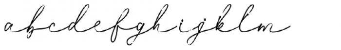 Weisy Regular Font LOWERCASE