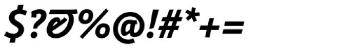 Weitalic Bold Italic Font OTHER CHARS