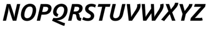 Weitalic Bold Italic Font UPPERCASE